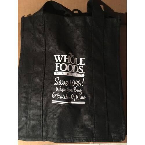 Whole Foods Wine Tote Bag